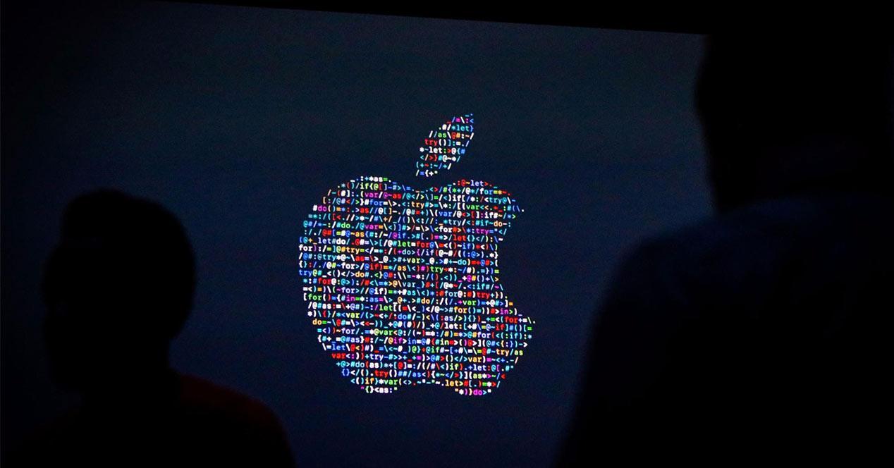 Logo de Apple en colores