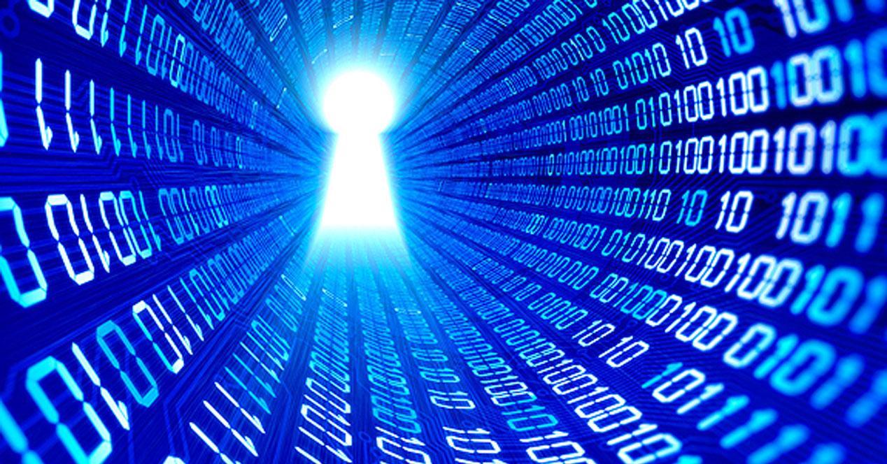 Seguridad de datos en Intenet
