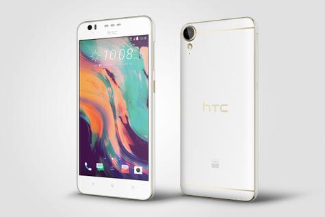 HTC Desire 10 LIfestyle en color blanco