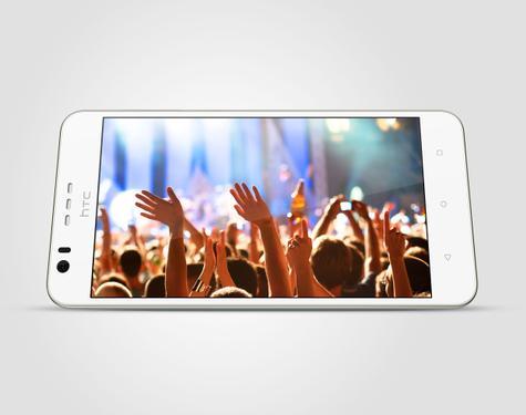 HTC Desire 10 LIfestyle blanco en panorámico