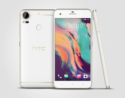 HTC Desire Pro blanco vista frontal