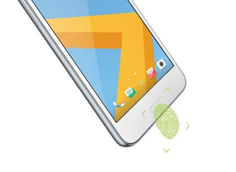 HTC One A9s blanco con lector de huella dactilar