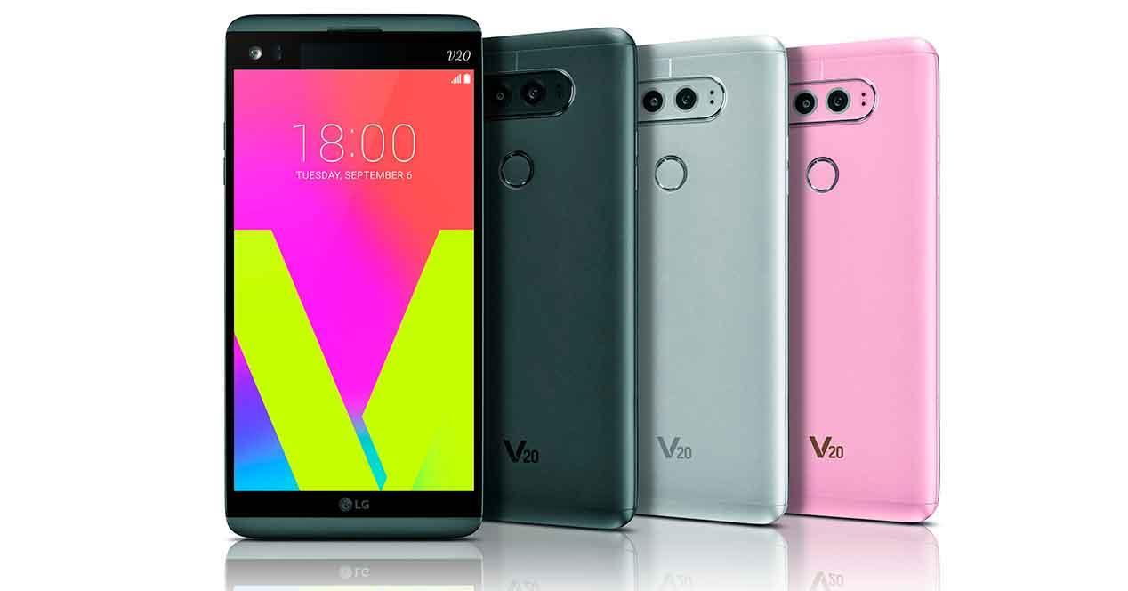 LG V20 bodegon