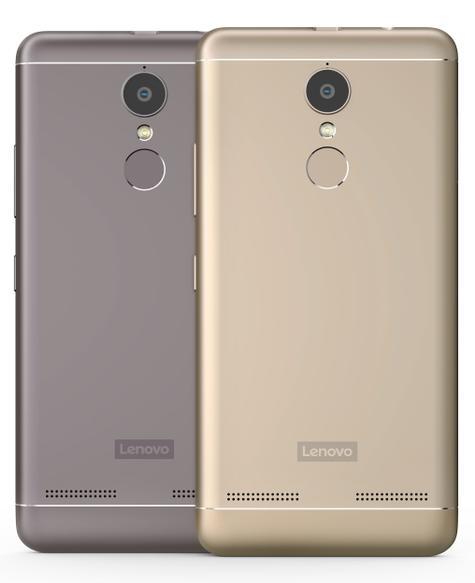 Lenovo K6 cámara digital dorado y negro