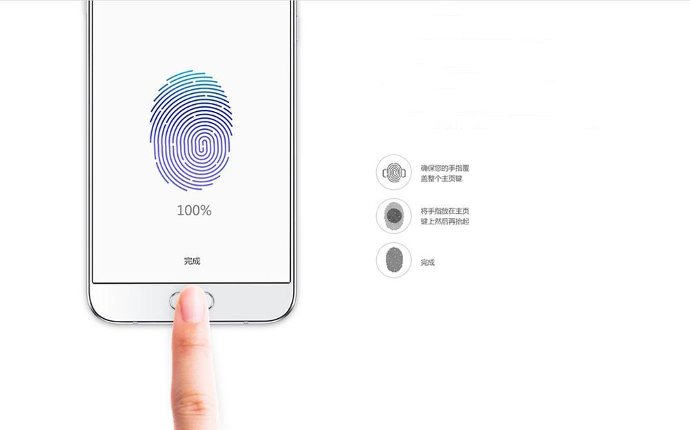 Samsung Galaxy A8 huella dactilar