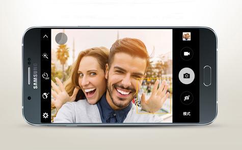 Samsung Galaxy A8 cámara de fotos