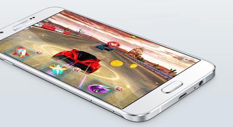 Samsung Galaxy A8 videojuego