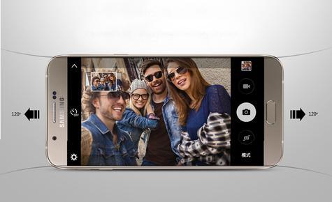 Samsung Galaxy A8 gente joven cámara de vídeo