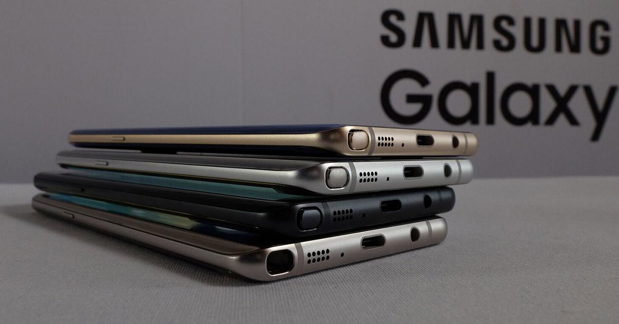 montón de Samsung Galaxy note 7