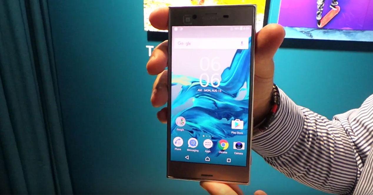 Sony Xperia XZ en vídeo