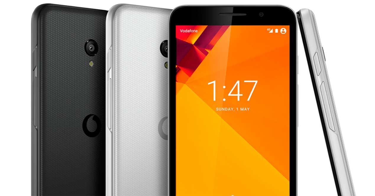 Vodafone Smart Turbo 7 en diferentes colores
