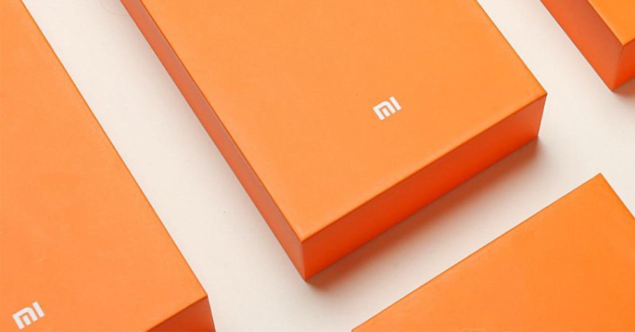 Caja de embalaje de Xiaomi