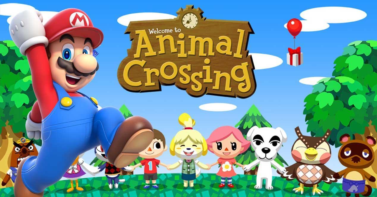 Super Mario Run en Animal Crossing