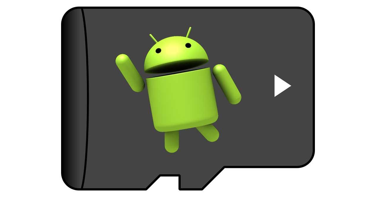 Aplicaciones Android en microsd