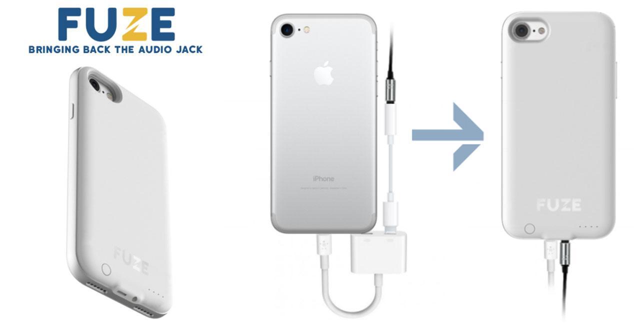fuze carcasas con iphone 7