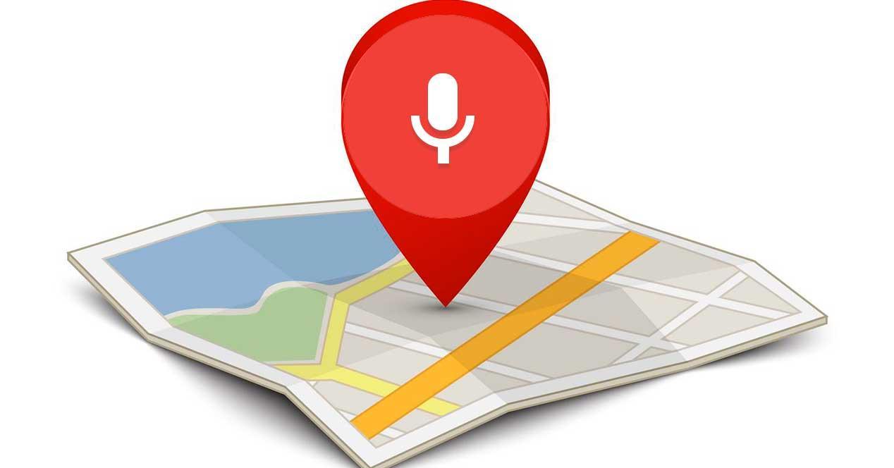 navegación en Google Maps con voz