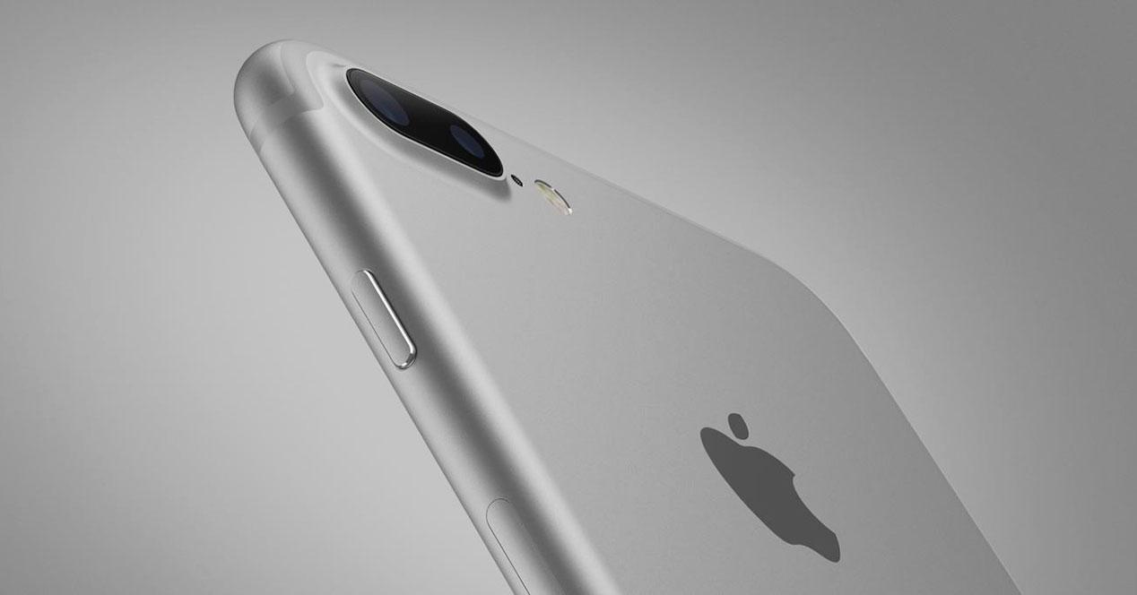 iPhone 7 Plus de color gris