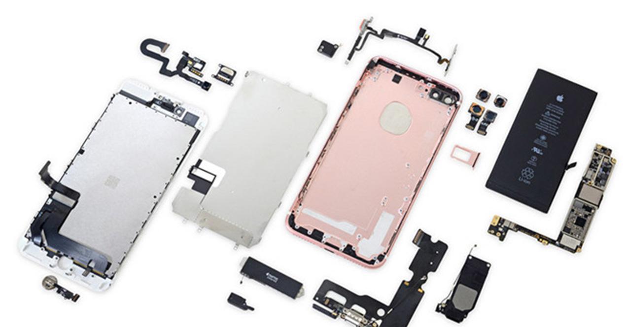 Piezas del iPhone 7