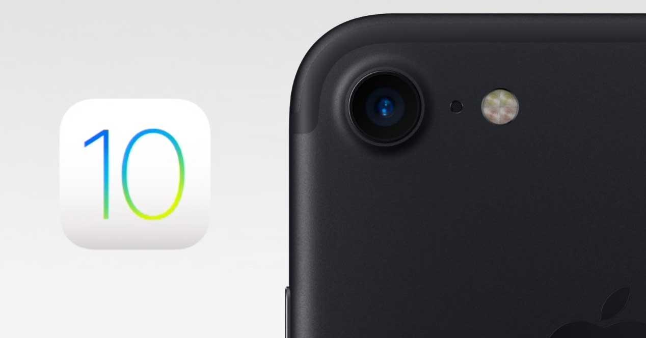 iOS 10 iPhone 7