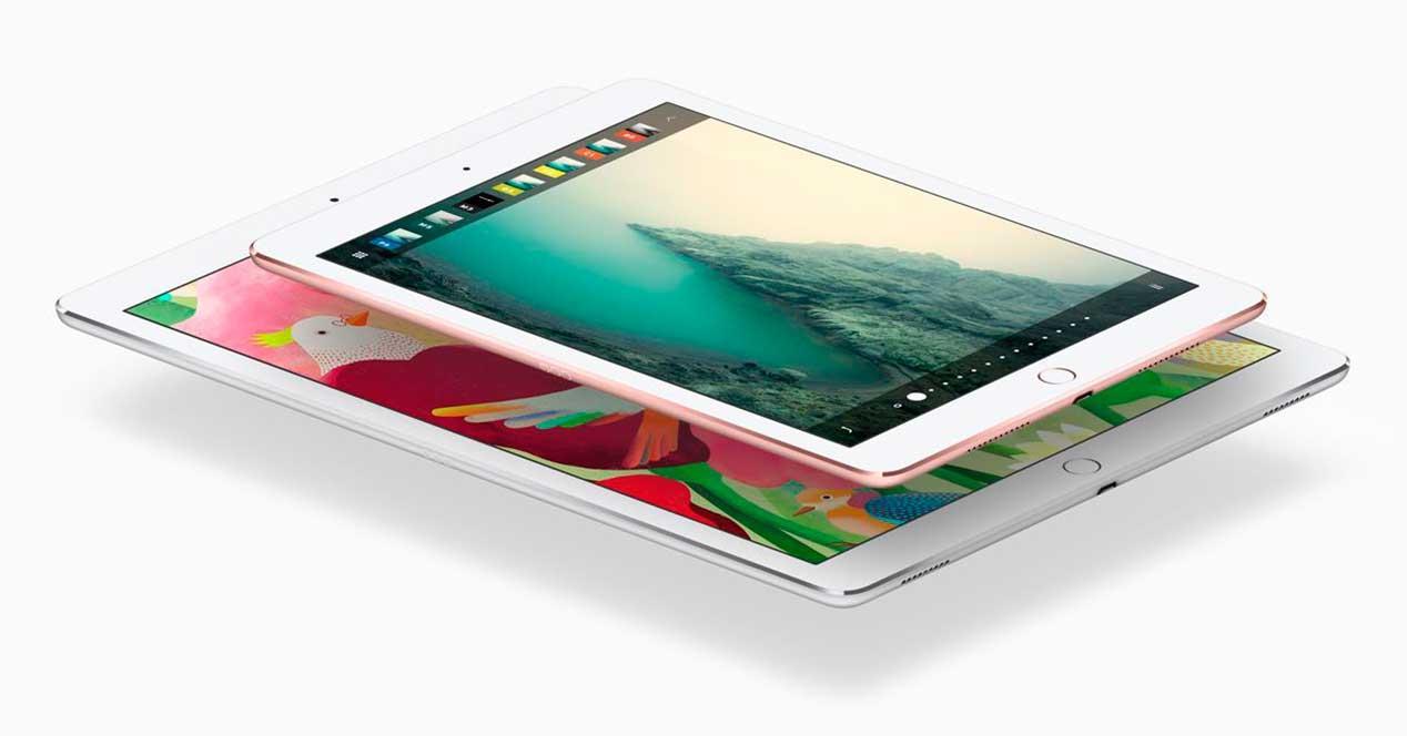 iPad y iPad Pro