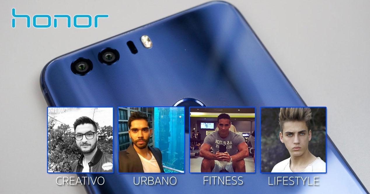 Honor 8 con foto de 8 testers