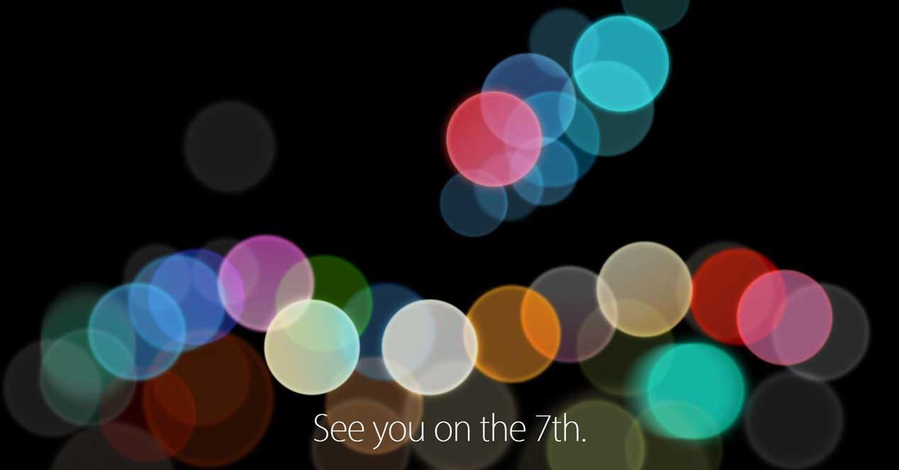presentación del iPhone 7