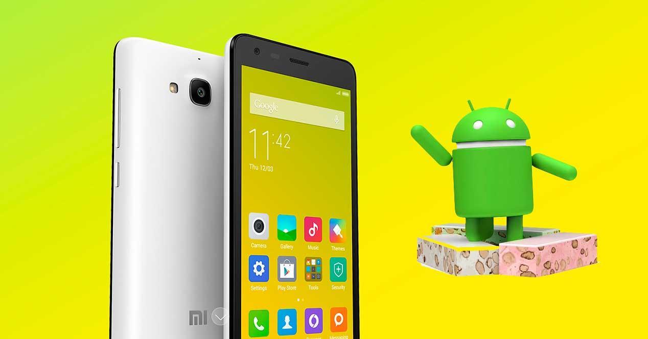 Android 7 para el Xiaomi Redmi 2