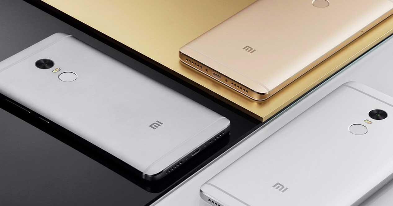 Xiaomi Redmi Note 4 en varios colores