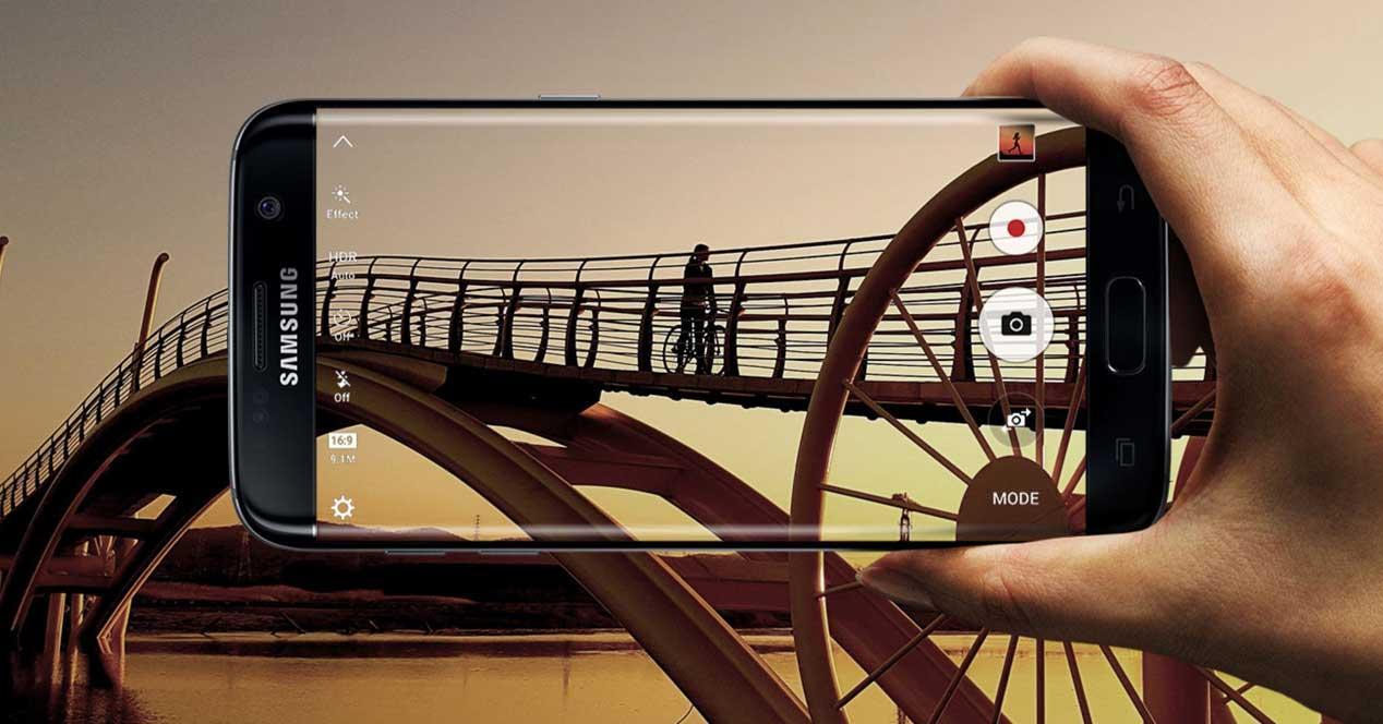camara del Samsung Galaxy S7