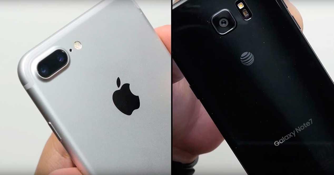 Test de caída del iPhone 7 Plus