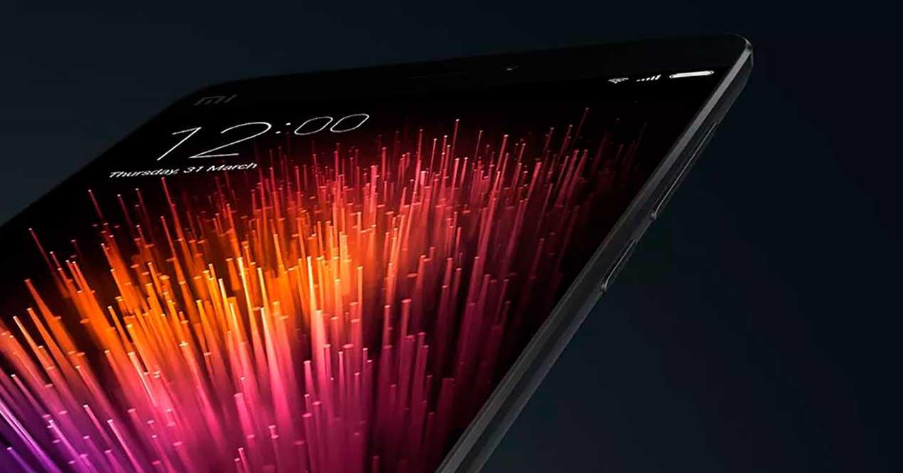 Xiaomi Mi5 de color negro