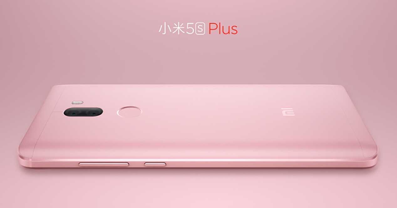 Xiaomi mi5s Plus rosa