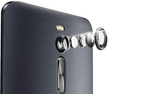 Asus Zenfone 2 lentes de la cámara