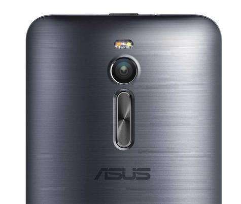 Asus Zenfone 2 detalle de la cámara