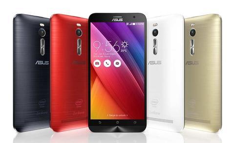 Asus Zenfone 2 gama de colores