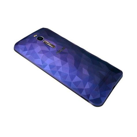 Asus Zenfone 2 Deluxe azul detalle de la cámara