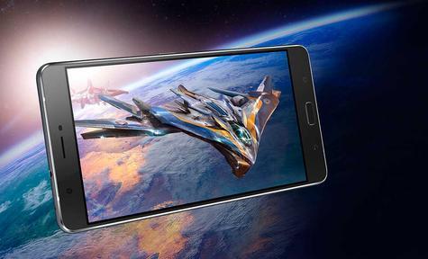 ASUS Zenfone 3 Ultra con foto del espacio