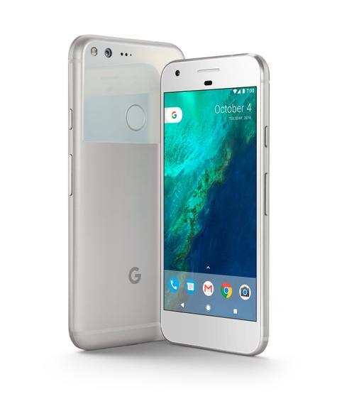 Google Pixel vista delantera y trasera