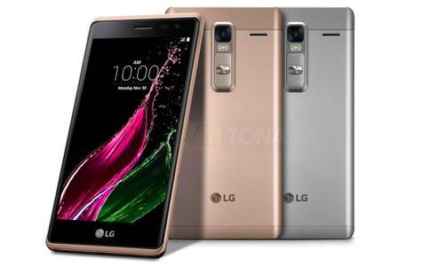 LG CLass negro, dorado, gris