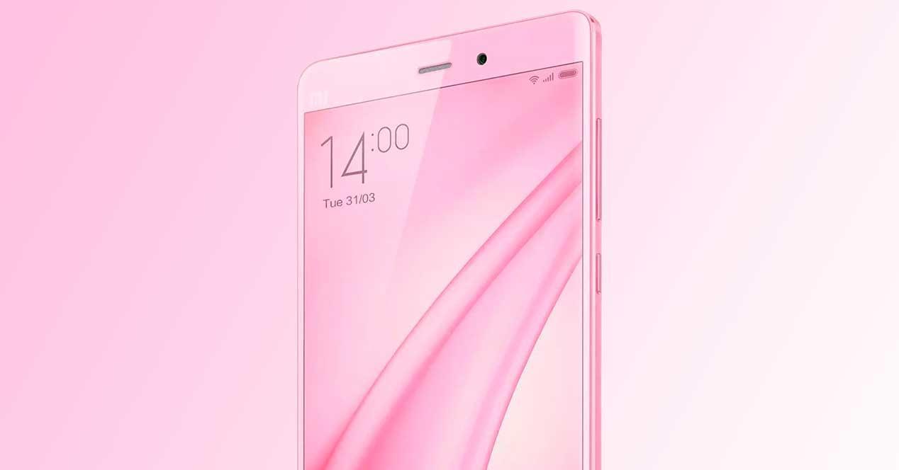 Xiaomi Mi Note color rosa
