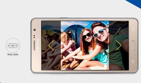Samsung Galaxy Wide dorado