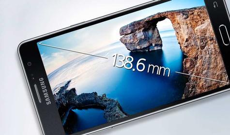 Samsung Galaxy Wide vista horizaontal