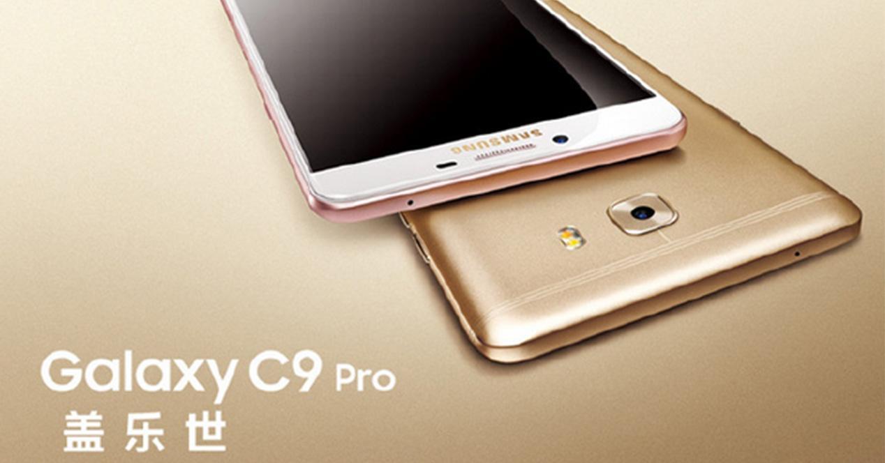 Imagen de presentación del Samsung Galaxy C9 Pro