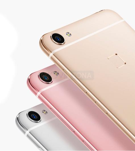 Vivo X6 dorado, rosa y plata