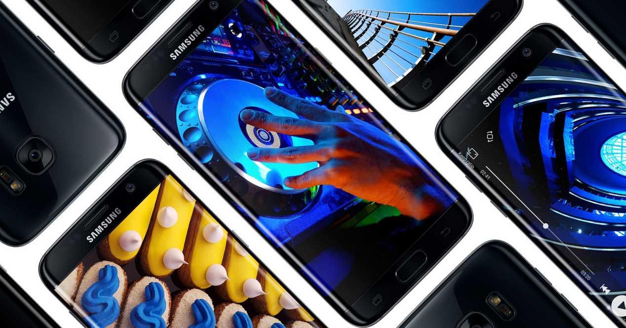 Samsung Galaxy S7 pantalla