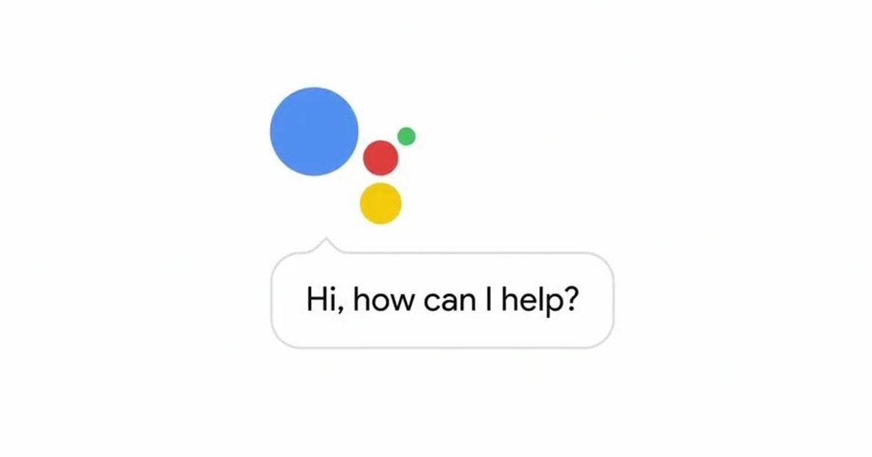 interfaz de google assistant