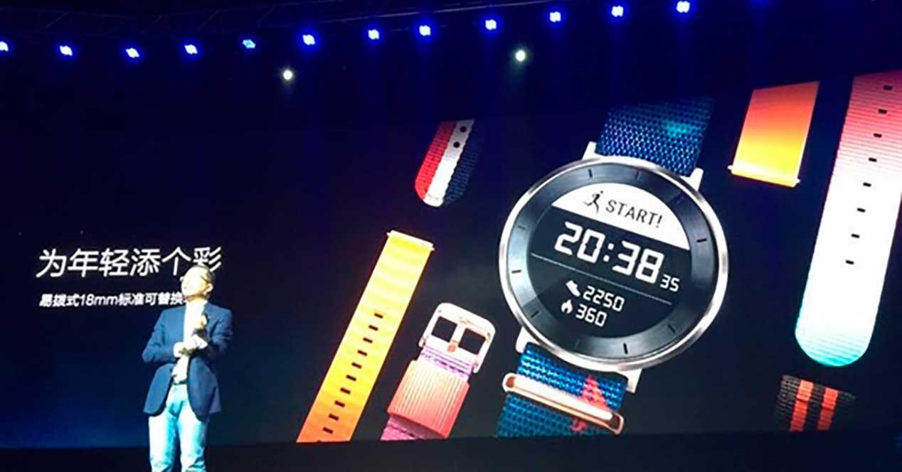 presentacion smartwatch Honor S1