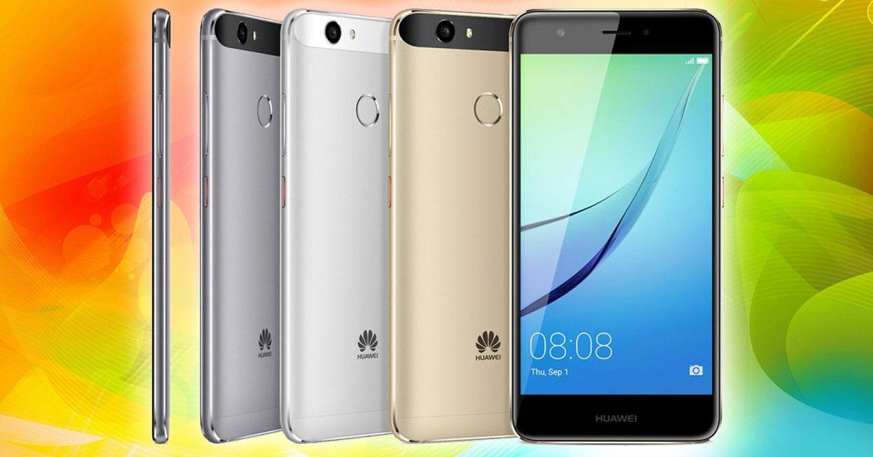 Huawei Nova en sus colores oficiales