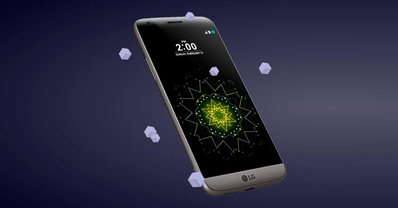 LG G5 de color gris