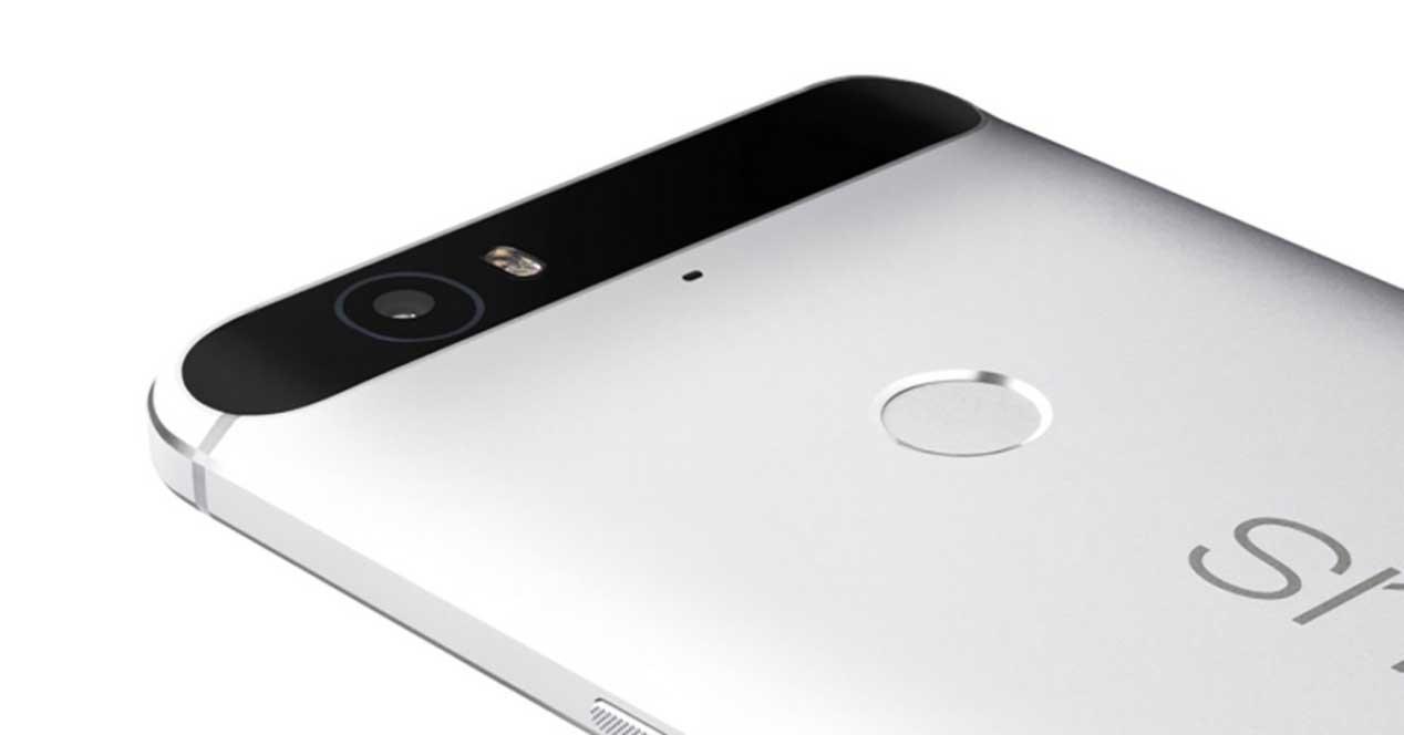 Nexus 6P de color gris
